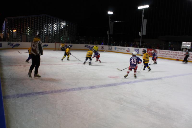 хоккейный матч 2