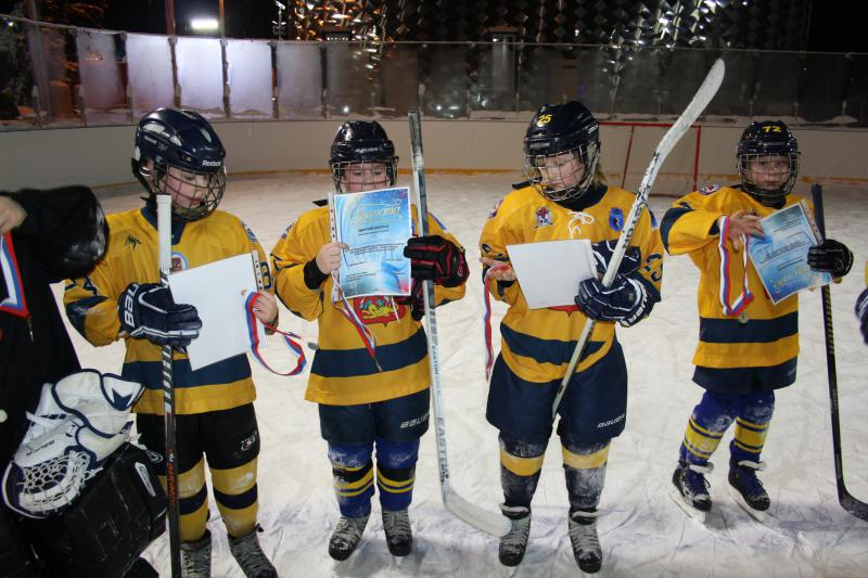 хоккейный матч 10