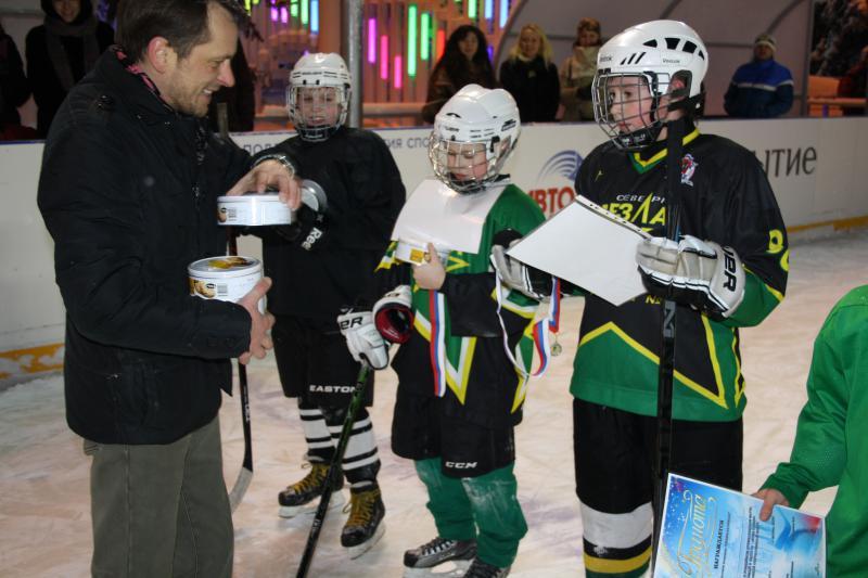 хоккейный матч 11