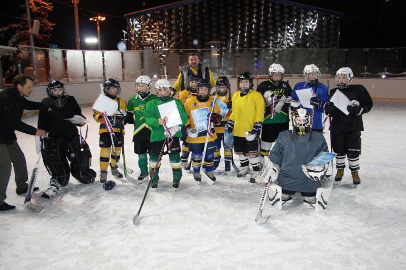 хоккейный матч 12
