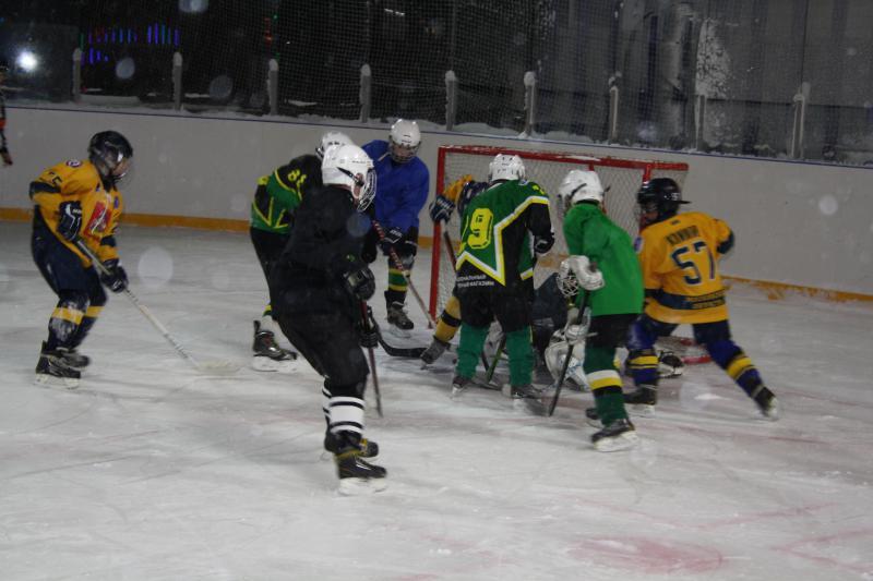 хоккейный матч 4
