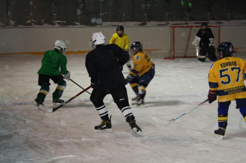 хоккейный матч 5