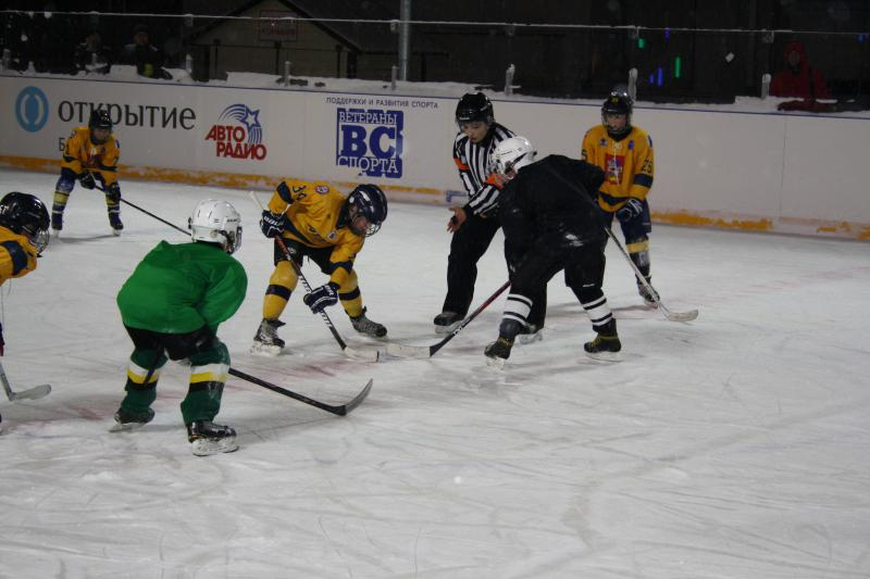 хоккейный матч 6