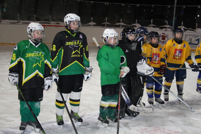 хоккейный матч 7
