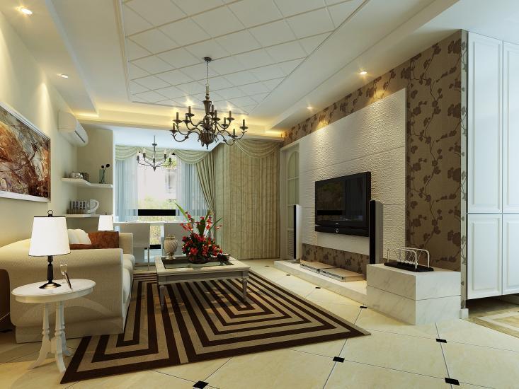 Дизайн интерьеров - Гостинная